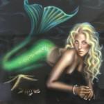 Aquamarine the mermaid.