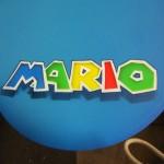 """Mario"" on a snowboard for Rolanda."