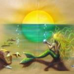 Mermaid for a mermaid.