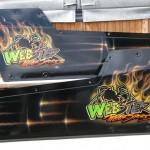 Webster motorsports dragster doors for Ken.