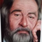 """Portrait of Robert deNiro (also painted in Las Vegas)"""